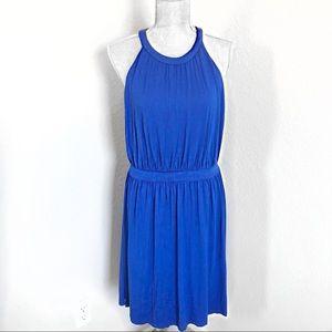 Cynthia Rowley Blue Sleeveless Dress Size Medium